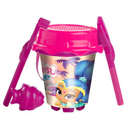 Shimmer and Shine sand bucket and mould