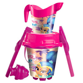 Shimmer and Shine sand bucket moulds watering can