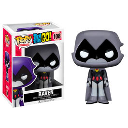 Figura POP Teen Titans Go! Grey Raven Exclusive