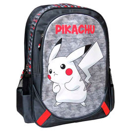 Mochila Pikachu Pokemon 43cm adaptable