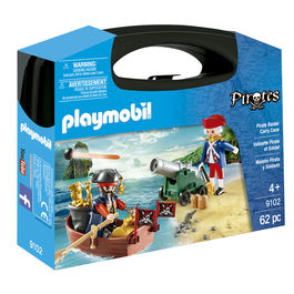 Maletin Pirata y Soldado Playmobil Pirates
