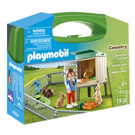 Playmobil Country Rabits carry case