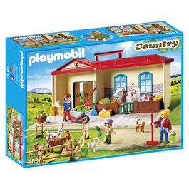 Playmobil Country Farm carry case
