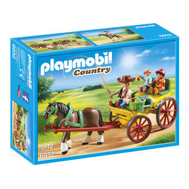 Playmobil Country Carriage with Horse