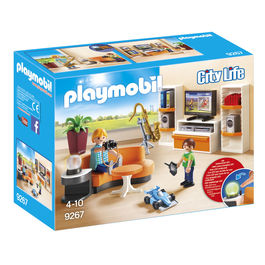 Salon Playmobil City Life