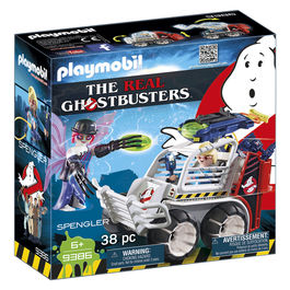 Playmobil Ghostbusters Spengler with Car