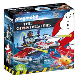Playmobil Ghostbusters Zeddemore with Jet Ski