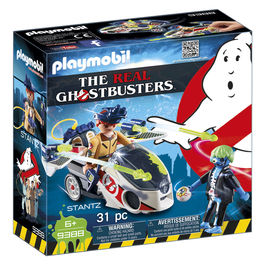 Playmobil Ghostbusters Stanz with Flying Motorbike