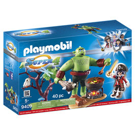 Ogro con Ruby Playmobil Super 4