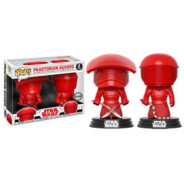 Set 2 figuras POP Star Wars Episode VIII The Last Jedi Praetorian Guards Exclusive