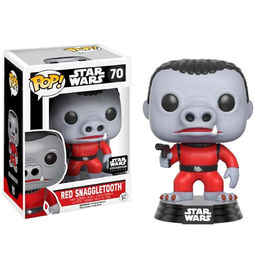 Figura POP Star Wars Cantina Red Snaggletooth Exclusive