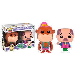 Set 2 figuras POP Hanna Barbera Neon Magilla Gorilla & Mr. Peebles Exclusive