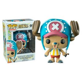 Figura POP One Piece Tony Tony Chopper Flocked Exclusive