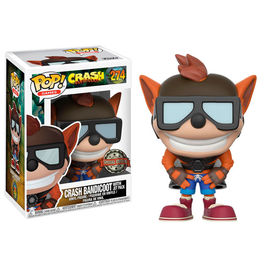 Figura POP Crash Bandicoot with Jet Pack Exclusive