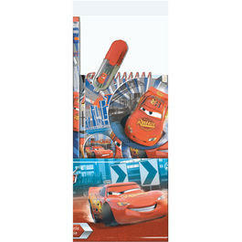 Blister tubo papeleria Rayo McQueen Cars Disney
