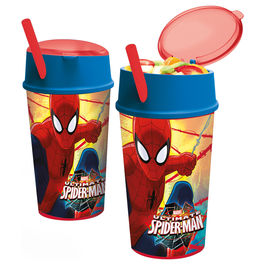 Marvel Spiderman snack tumbler