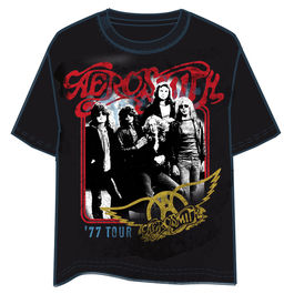 Camiseta Aerosmith 77 Tour adulto