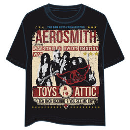 Camiseta Aerosmith Toys Attic adulto