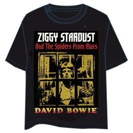 Camiseta David Bowie Ziggy adulto