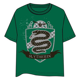Camiseta Slytherin Harry Potter adulto