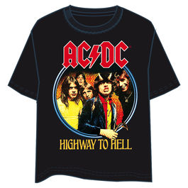 Camiseta ACDC Highway to Hell adulto