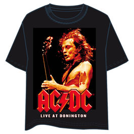 Camiseta ACDC Live at Donington adulto