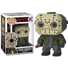 Figura POP 8-Bit Horror Jason Voorhees