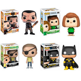 Oferta pack 4 Funko POP Exclusive