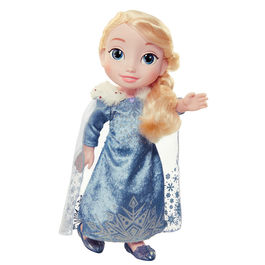 Disney Frozen Anna winter cap doll 35cm