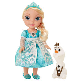 Disney Frozen Elsa bright dress doll 35cm