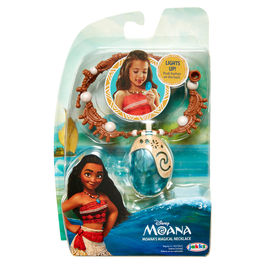 Disney Vaiana moana macig necklace with lights
