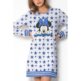 Pijama Minnie Stars Disney adulto