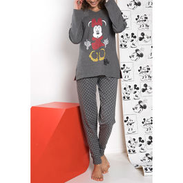 Pijama Minnie Letters Disney adulto