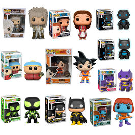 Offer pack 10 Funko POP Exclusives 7,99€ x unit!