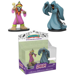 Set figuras Scooby Doo Hero World Witch Doctor & Phantom Exclusive