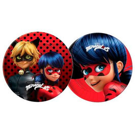 Miraculous Ladybug pack 10 party plates