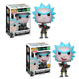 Figura POP Rick and Morty Weaponized Rick 5 + 1 chase
