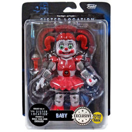 Figura Action Five Nights at Freddy's Baby Glow in the Dark Exclusive