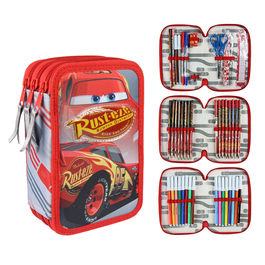 Plumier Cars 3 Disney triple Giotto