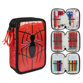 Marvel Spiderman Giotto triple pencil case