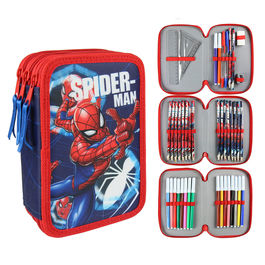 Marvel Spiderman triple Giotto pencil case