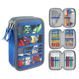 Marvel Avengers triple Giotto pencil case