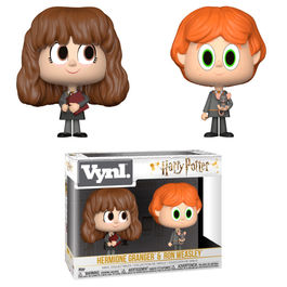 Figuras Vynl Harry Potter Ron & Hermione