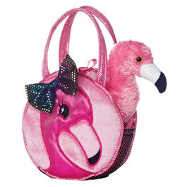 Peluche bolso Fancy Pal Flamenco 21cm