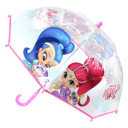 Shimmer and Shine bubble POE umbrella 45cm