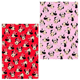Manta franela Minnie Disney surtido
