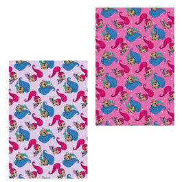 Shimmer and Shine assorted flannel blanket
