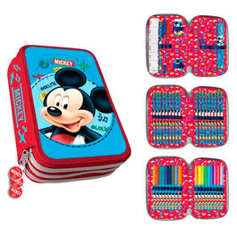 Plumier Mickey Disney triple