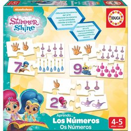 Shimmer and Shine Learn the Numbers