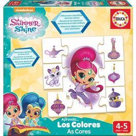 Shimmer and Shine Learn the Colors
